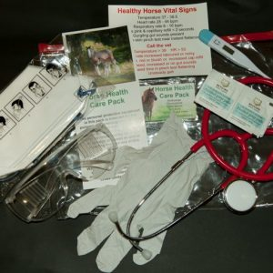 Horse health care pack