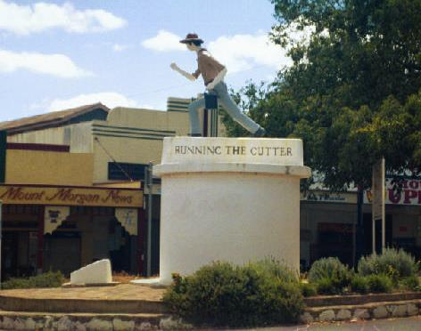 Mount Morgan, tour book, self guided, historical Mount Morgan
